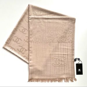 Large Scarf in Rose Blush Color